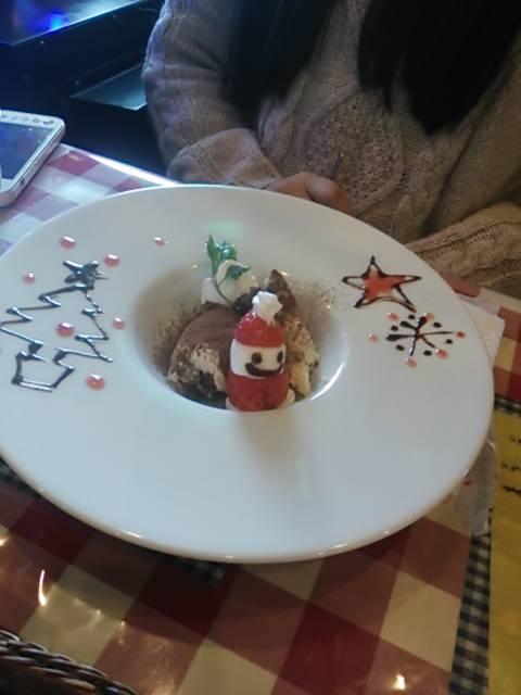 クリスマスデザート