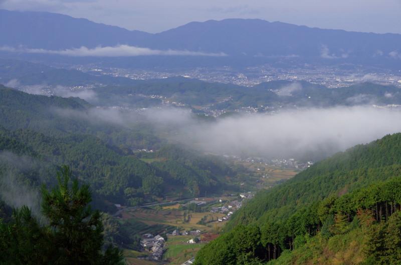 談山神社 峠から1