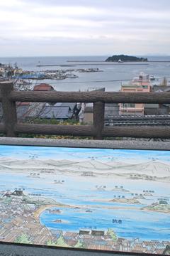 鞆城山公園からの景色