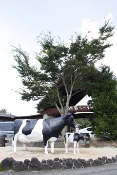ミルク牧場 入口