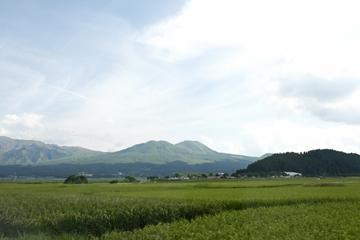 阿蘇の山々