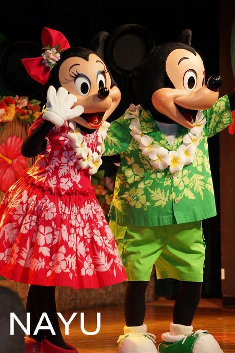 20140126ルアウステージミッキーミニー