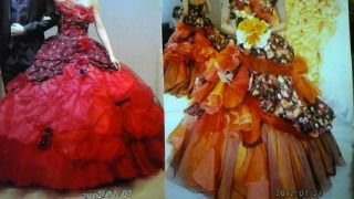 ドレス バラ