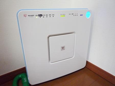 ウチの空気清浄機