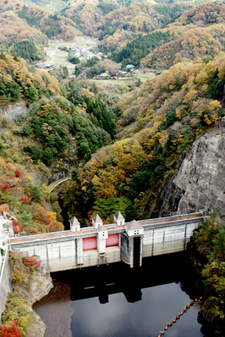竜神大吊橋 ダム