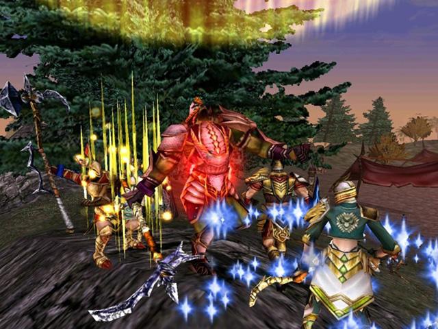 対人主体のMMORPG『ナイトオンラインクロス』