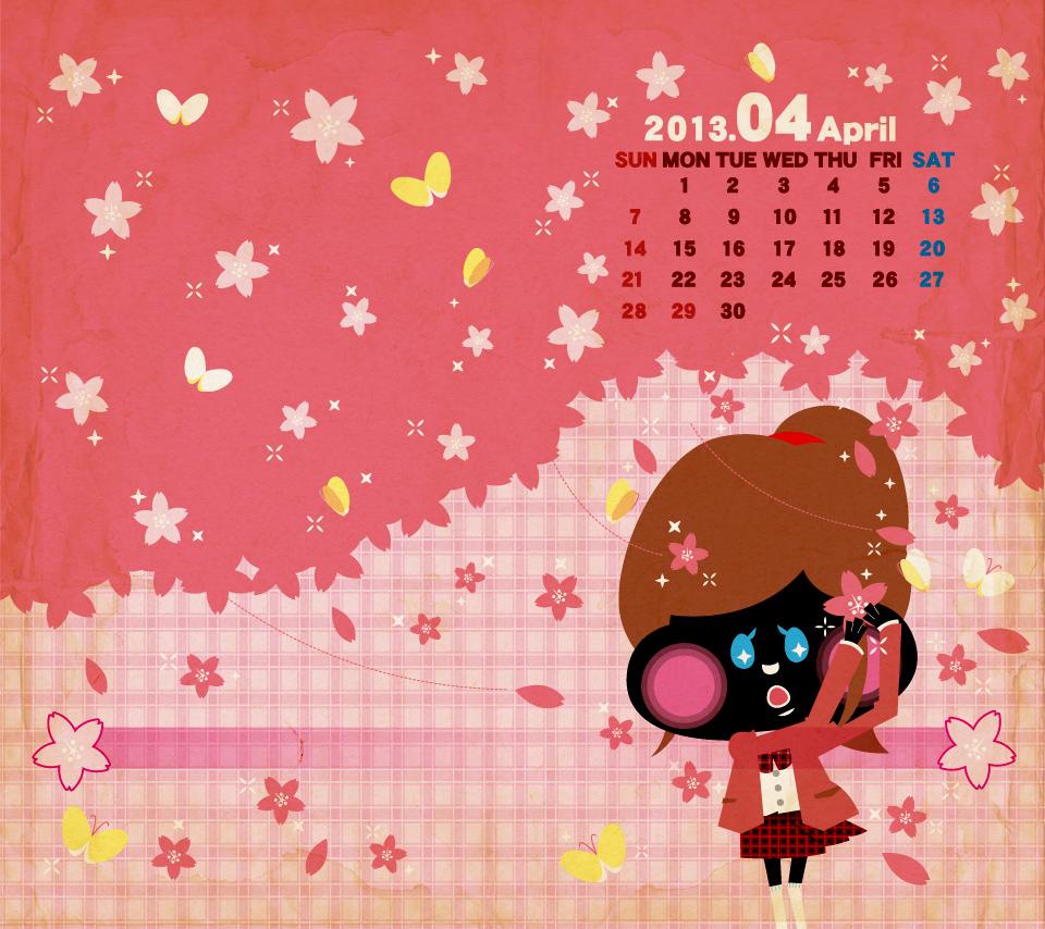 2013_04月カレンダースマホ
