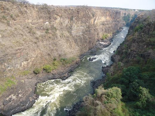 リヴィングストーン バトカ峡谷