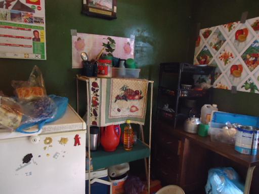 バンズ売りの家のキッチン