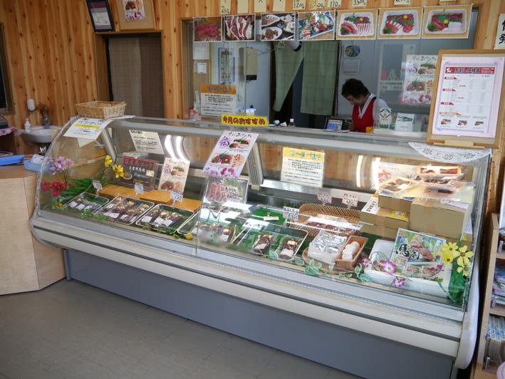 丸光精肉店ショーケース1
