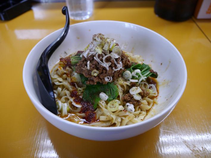 汁なし坦々麺2