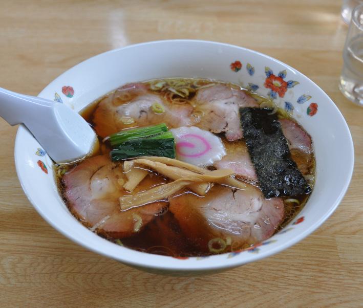 五蔵田醤油ラーメン2
