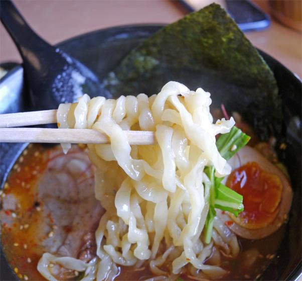 甘辛ハーフ麺