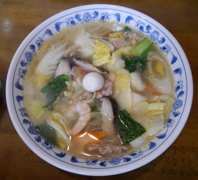 滋味菜館五目麺1