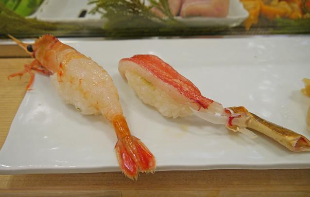 寿司清海老ずわい