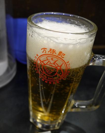 万豚記ビール