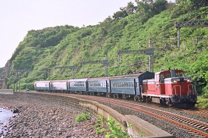 1994年 C62送り込み回送