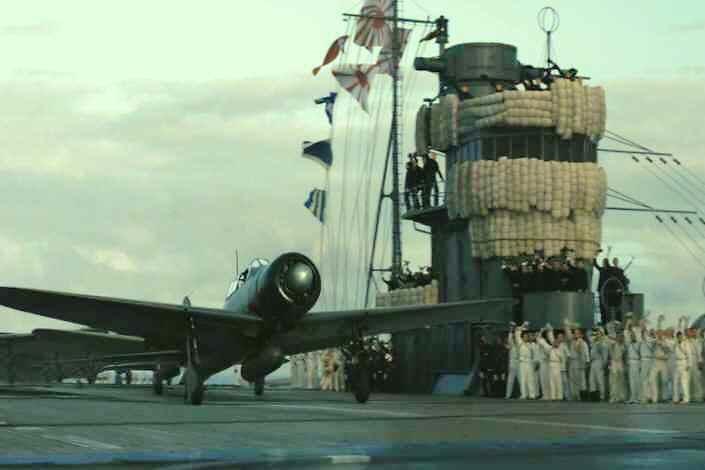 永遠の0 空母赤城艦橋シーン