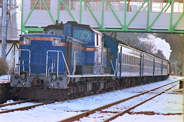 891203 C62エバーグリーン列車 回送  ニセコ
