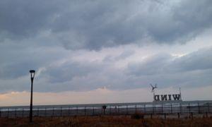 ジグザグな水平線