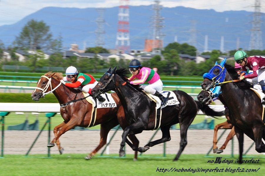 2011阪神3歳500万下 第4コーナー付近にて。