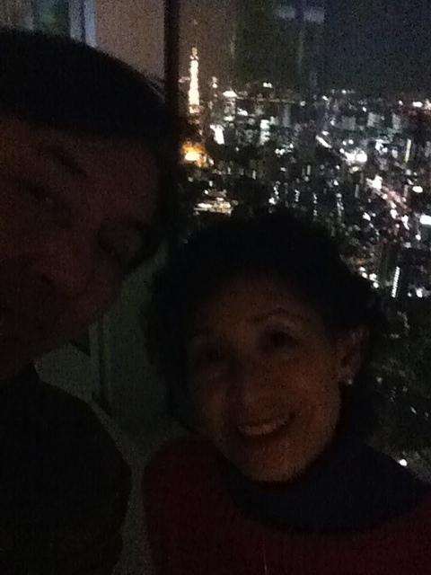 東京夜景2人