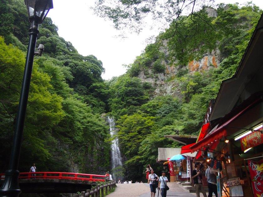 箕面の滝4