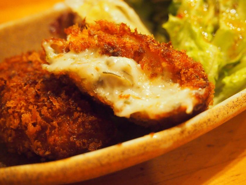 牡蠣クリームコロッケ