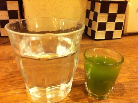 玄三庵飲む野菜