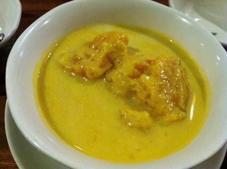 熱帯食堂カボチャのココナッツミルク煮