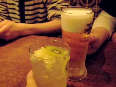 スパッカアルバータ乾杯