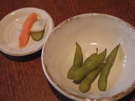しらすや枝豆