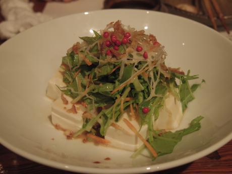 尊尊我無201210豆腐サラダ