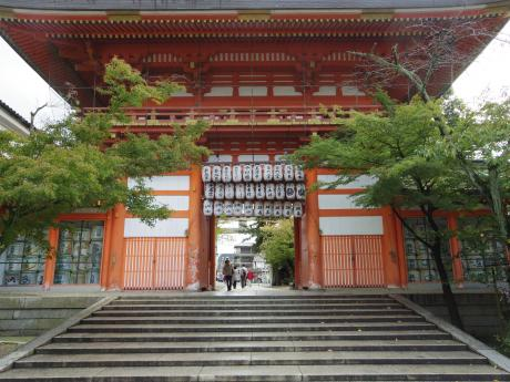 京都で着物5