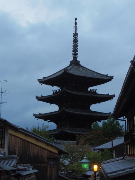 京都で着物3