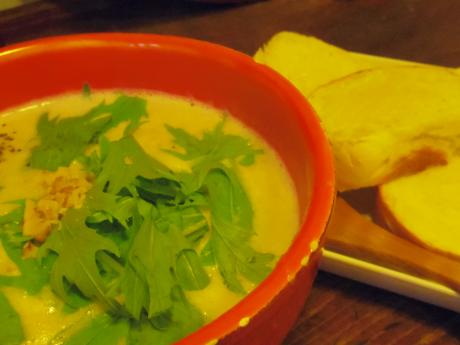 ひつじ茶房きのこスープ