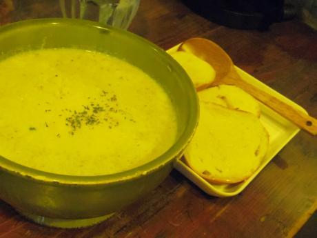 ひつじ茶房ブロッコリースープ