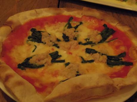ガーブドレッシング201212かにピザ