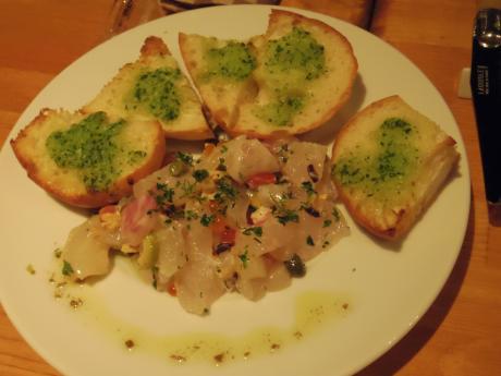 シャンパン食堂鮮魚のタルタル