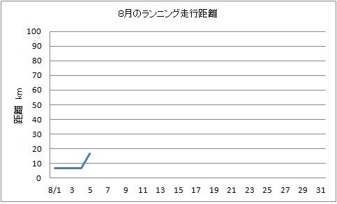 8月ランニング H24.8.6