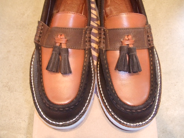 TO x OR GLORY x PALADIN TASSEL LOAFER BROWN FT