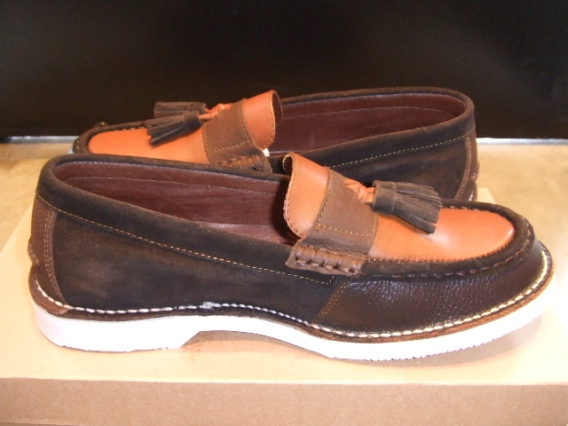 TO x OR GLORY x PALADIN TASSEL LOAFER BROWN SD2