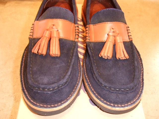 TO x OR GLORY x PALADIN TASSEL LOAFER NAVY FT