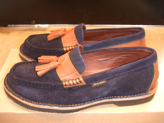 TO x OR GLORY x PALADIN TASSEL LOAFER NAVY SD1