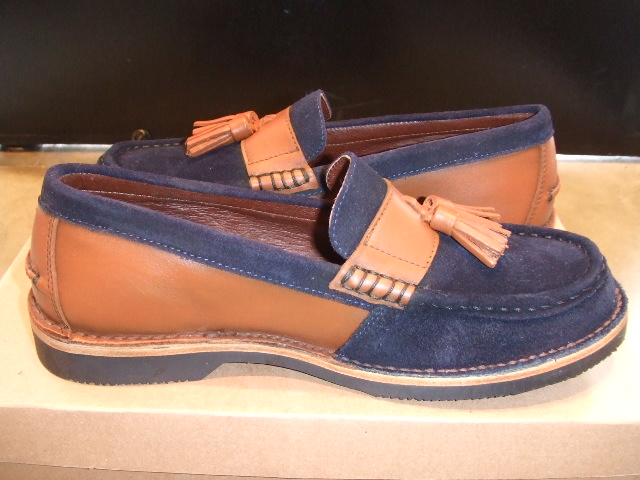 TO x OR GLORY x PALADIN TASSEL LOAFER NAVY SD2