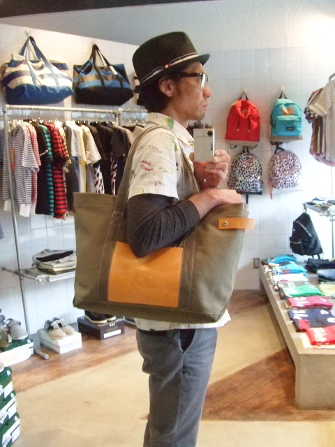 rehacer CAMPS TOTE BAG KHAKI ST