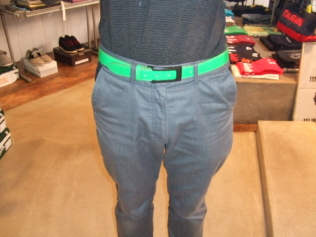 MDY LEATHER BELT ST