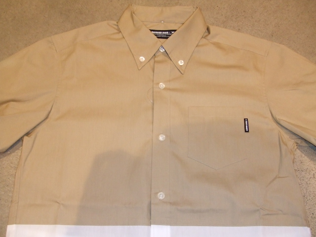 MDY12 EXCHAGE BD SHIRT BEIGE FT1