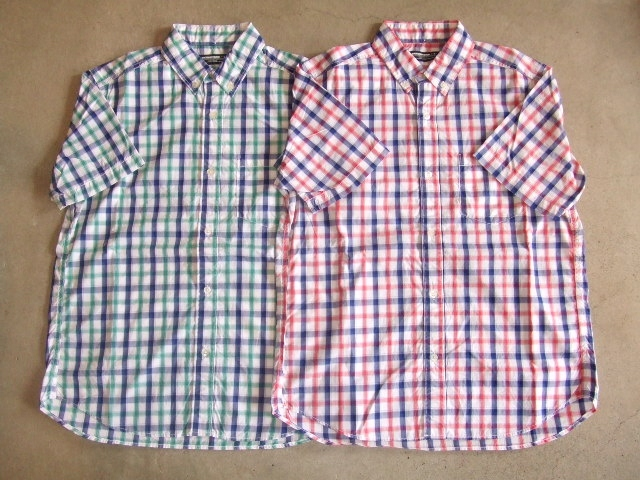 MDY BD CHECK SHIRT
