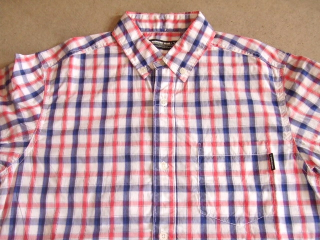 MDY BD CHECK SHIRT RED